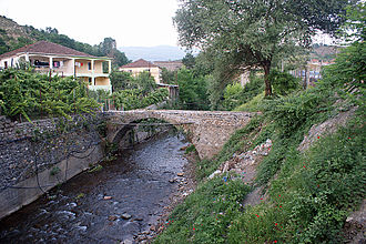 Mat District - Image: Old Bridge in Klos