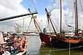 Old Dutch ships in the harbour of Monnickendam - panoramio.jpg
