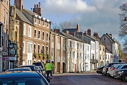 Old Elvet is the home of a number of departments, as well as Old Shire Hall Old Elvet, Durham (geograph 3851375).jpg