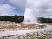 Old Faithful Geyser erupts approximately every 91 minutes.