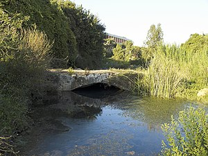 Arapsu Bridge - The footbridge across the Arapsu stream