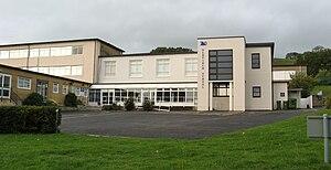 Oldfield School - Image: Oldfield School, Bath, main entrance building