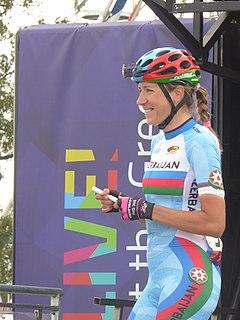 Olena Pavlukhina Azerbaijani cyclist