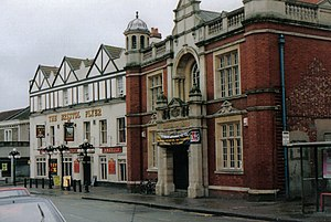 Bishopston, Bristol - Bristol North swimming baths and The Bristol Flyer Pub