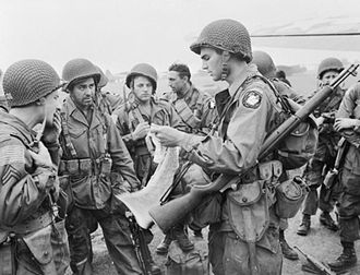 First Allied Airborne Army - American paratroopers of the First Allied Airborne Army, 17 September 1944