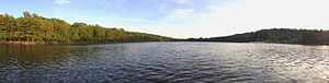 South Mountain Reservation - Image: Orange Reservoir Panorama
