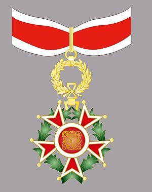 Order of the Brilliant Star of Zanzibar - Image: Order of the Brilliant Star of Zanzibar II grade Commander neck badge