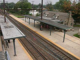 Oreland station - Oreland station in September 2012