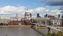 Orilla Norte del Támesis desde Tate Modern, Londres, Inglaterra, 2014-08-11, DD 123.JPG