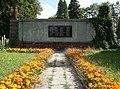 Orlová, pomník padlým horníkům v důlní katastrofě na nové jámě v Lazích v r. 1919 (1).JPG