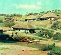 Orlovski Vladimir Donatovich Houses in summer day 1870.jpg