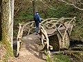Ornately carved bridge - geograph.org.uk - 1258844.jpg