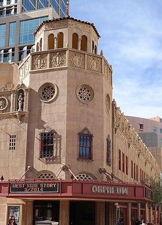 Orpheum Theatre (Phoenix, Arizona) - Image: Orpheum Theater 1