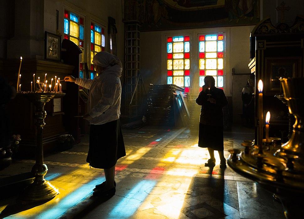 Orthodox prayers in Kazakhstan