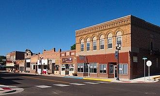 Ortonville, Minnesota - Ortonville's historic downtown