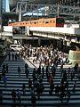 Osaka Station Pedestrian crossing DSCN3614 20121020.JPG