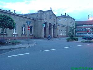Osterburken - Main train station