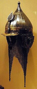 Lobster-tailed pot helmet - Wikipedia