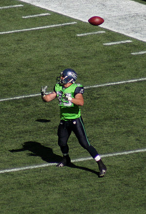 Owen Schmitt - Schmitt with the Seattle Seahawks in September 2009.