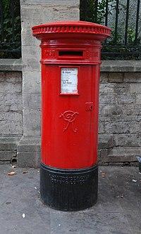 Type A pillar box