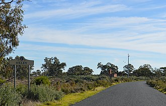 Oxley, New South Wales - Entry sign