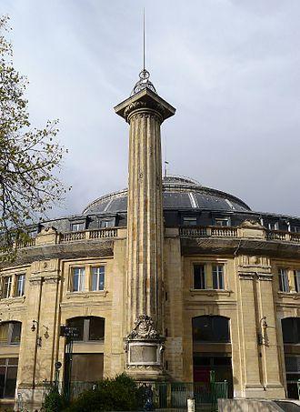 Hôtel de Soissons - Medici column
