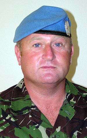Wayne Mills (British Army soldier) - Colour Sergeant Wayne Mills in 2004