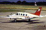 PA-31 Navajo G-WSSL at BHX (16149985042).jpg