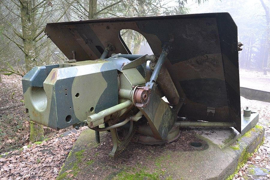 PAK / Panzerabwehrkanone - Canon antichar Boulaide Luxembourg1943