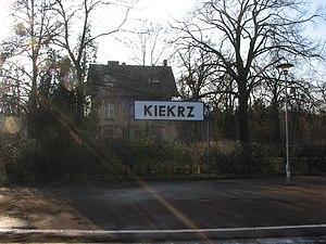 Kiekrz, Poznań - Kiekrz Station name