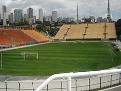 Estadi Municipal Paulo Machado de Carvalho (interior).