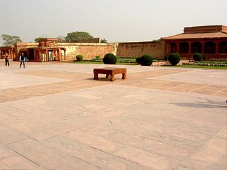 Pachisi - Large ancient garden version – Fatehpur Sikri – India
