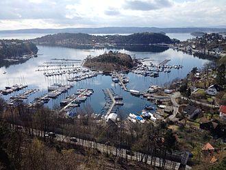 Nordstrand, Norway - Image: Paddehavet