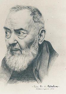 20th-century Italian saint, priest, stigmatist and mystic