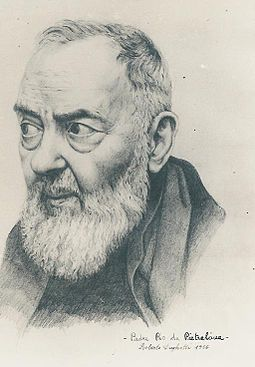"Saint Pio of Pietrelcina stated: ""Through the study of books one seeks God; by meditation one finds him."" Padre Pio.jpg"