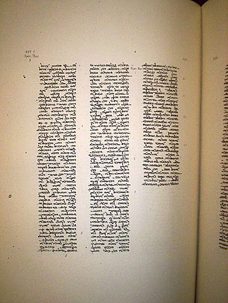 Codex Ambrosianus - Image: Page of the Codex Ambrosianus