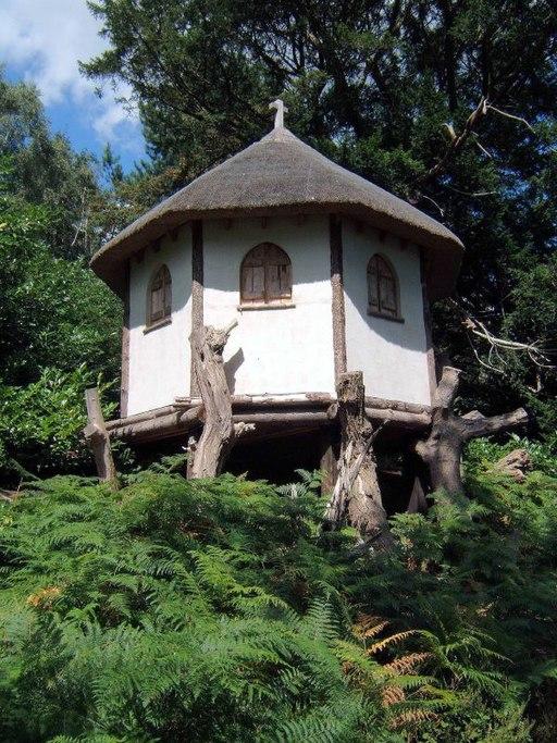 Painshill Park hermits hut