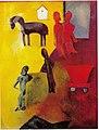 Painting 'Strike' c. 1925, by Herman Kruyder.jpg