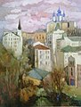 Painting by Iryna Vyshes-Andrew's Descent in Kyiv-2012.jpg