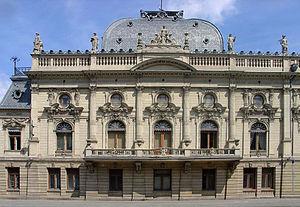 Izrael Poznański Palace - The palace facade