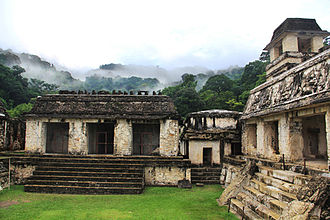Chiapas - The Palace at Palenque
