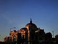 Palacio de Bellas Artes bajo el ocaso de una tarde de Junio..jpg
