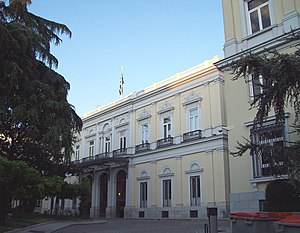 José de Salamanca, 1st Count of los Llanos - Salamanca's house-palace in Madrid, built in 1855.