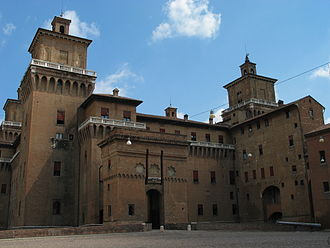 Ferrara - The Castle Estense.