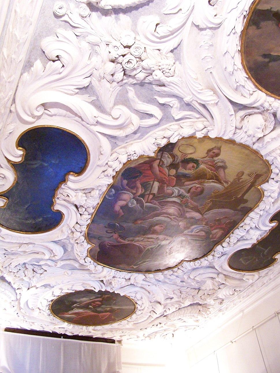 Palazzo Chiericati ceiling 2