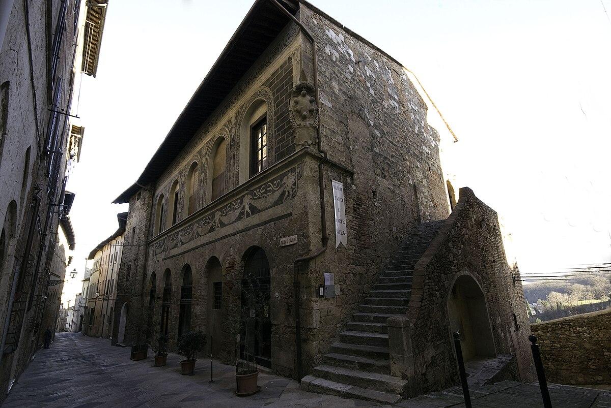Museo civico e d 39 arte sacra di colle di val d 39 elsa wikipedia for Gr2 arredamenti colle val d elsa