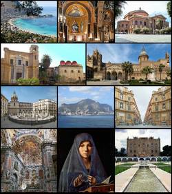 Palermo collage