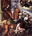 Palma il Giovane - Doge Francesco Venier Presents the Subject Cities to Venice - WGA16908.jpg
