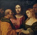 Palma il Vecchio - Christ and the Adulteress.JPG