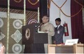 Pamulaparti Venkata Narasimha Rao Addressing - Inaugural Function - National Science Centre - New Delhi 1992-01-09 246.tif